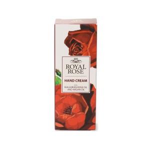 Подхранващ крем за ръце с розово масло Royal Rose Biofresh