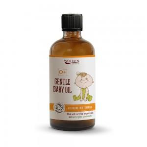 Подхранващо масажно бебешко олио Wooden Spoon