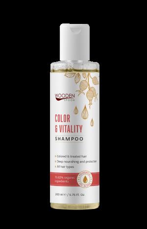 Шампоан за боядисана коса Color & Vitality Wooden Spoon