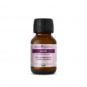 Bio organic açaí vegetable oil Alteya Organics