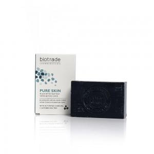 Черен детокс сапун за лице Pure Skin Biotrade