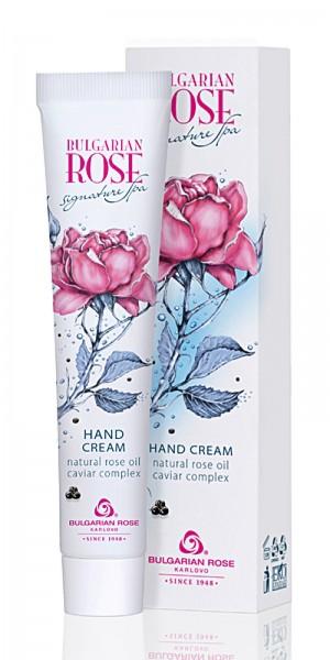 Подхранващ крем за ръце Signature spa  Българска роза Карлово