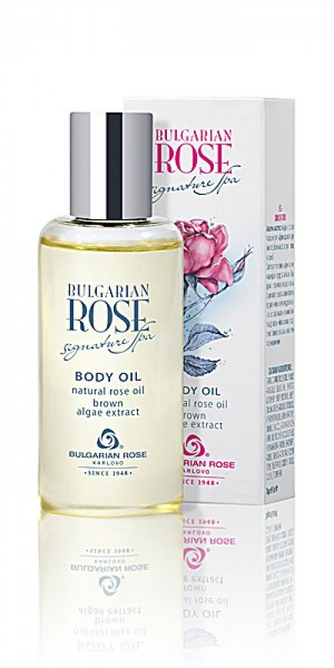 Подхранващо олио за тяло Signature spa с арган и розово масло Българска роза Карлово
