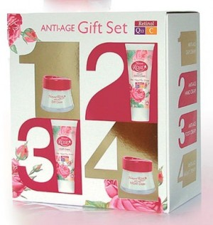 Anti-age gift cosmetic pack Q10 Arsy Cosmetics