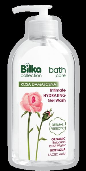 Хидратиращ интимен гел с натурална розова вода Bilka Intimo Care