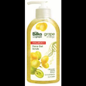 Moisturizing facial gel scrub Grape Energy Hialuron+ Bilka