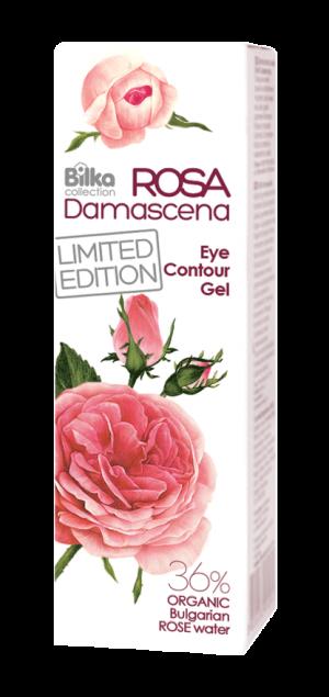 Eye contour gel with rose water Bilka Rosa Damascena