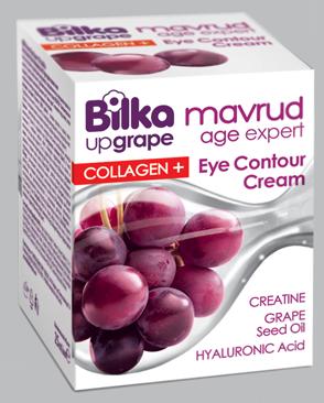 Антиейджинг крем за околоочният контур с колаген и екстракт от грозде Bilka Mavrud Age Expert Collagen+
