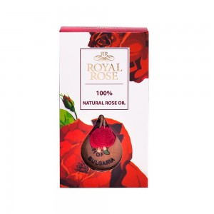 100% натурално розово масло Royal Rose Biofresh 0,5 мл.