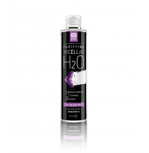 Мицеларна вода за мазна и комбинирана кожа Биле MW Bodi Beauty