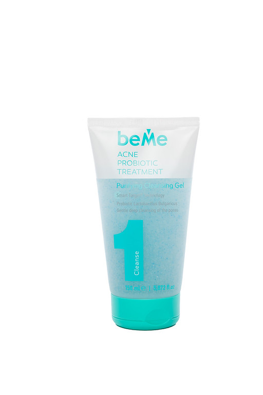 Дълбоко почистващ гел за лице Acne Probiotic Treatment BeMe