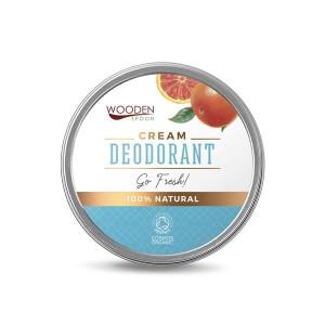 100% натурален крем дезодорант против изпотяване Go Fresh Wooden Spoon