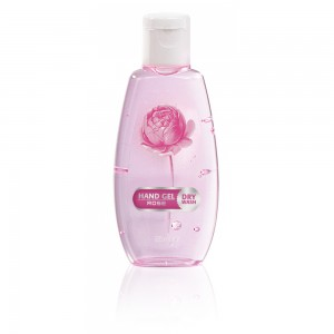 Hand hygiene gel for hands with rose Bulgarian Rose Karlovo