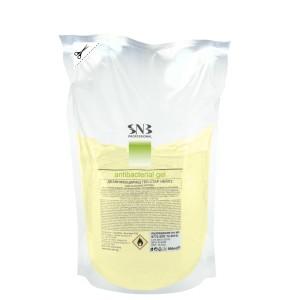 Дезинфекциращ гел за ръце с 75 % етанол с аромат на липа еднократен пълнител 500 мл. SNB