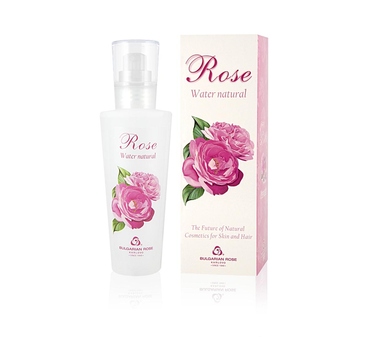 Натурална розова вода Българска Роза в кутия 160 мл.