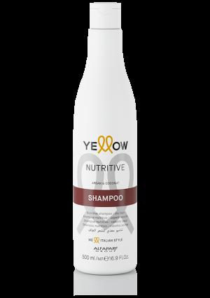 Подхранващ шампоан с арган и кокос Nutritive Yellow