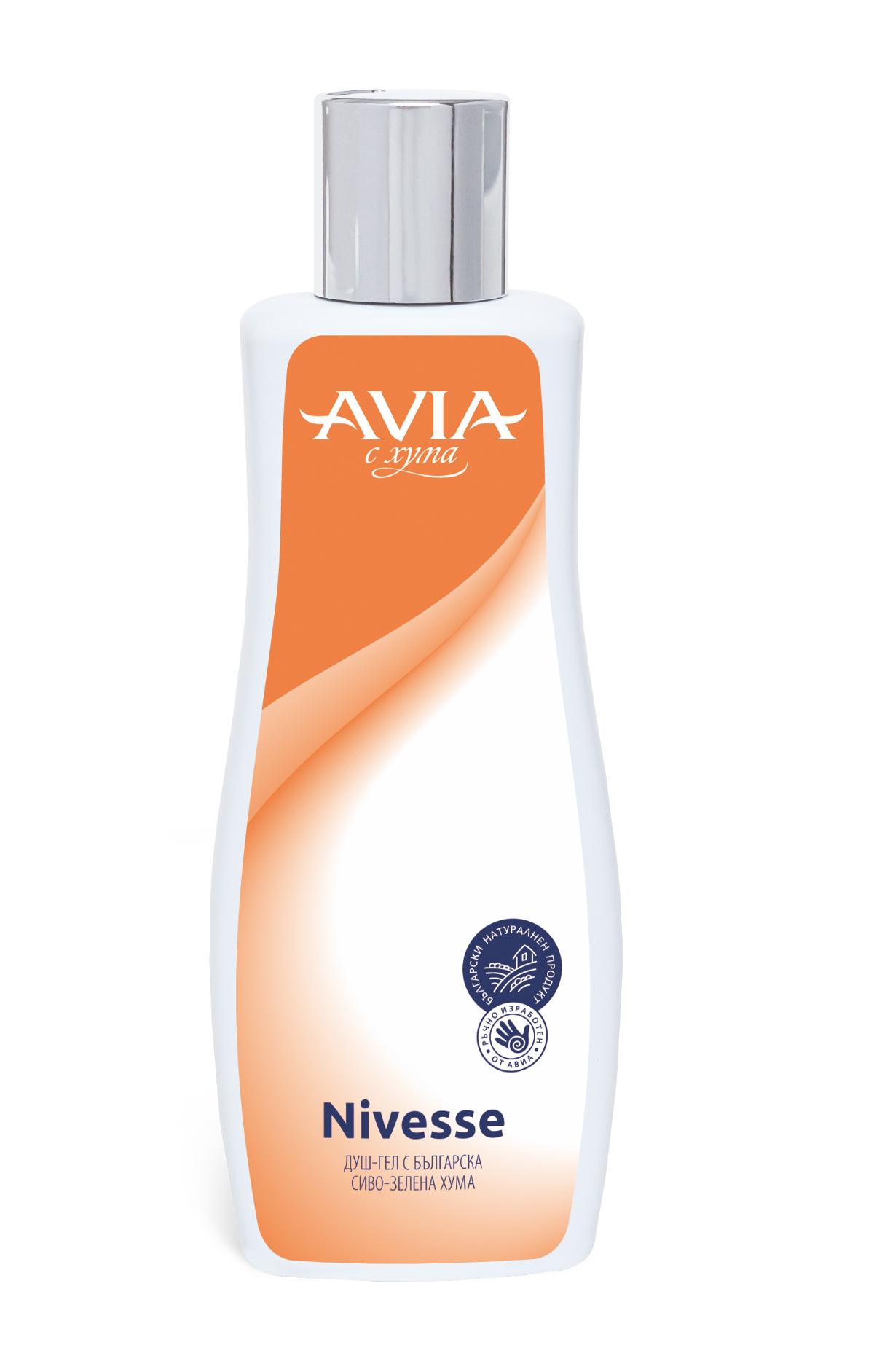 Душ гел с натурална хума Nivesse Avia