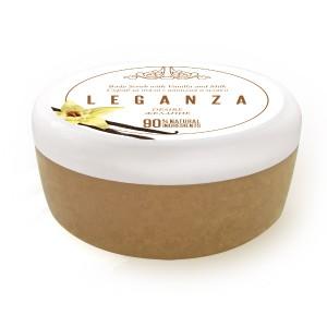 Скраб за тяло с ванилия и мляко Leganza Rosa Impex