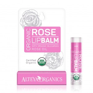 Био органичен балсам за устни с роза Alteya Organics