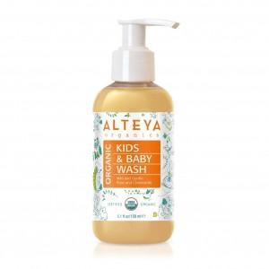 Био органичен бебешки течен сапун Alteya Organics