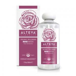 Био органична розова вода от българска роза дамасцена Alteya Organics 500 мл.